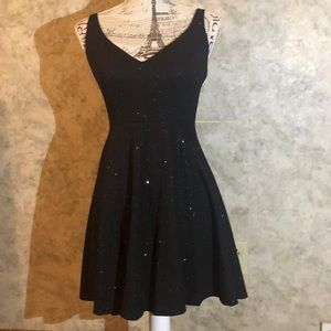 Jump Apparel*  Black Sparkle Dress